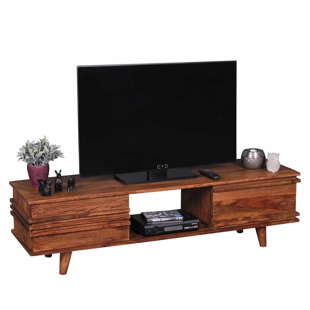 TV Tisch aus Sheesham Massivholz 145 cm Jetzt bestellen unter: https ...