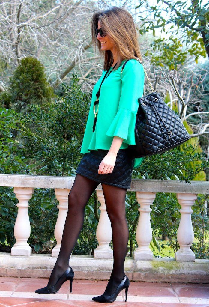Oh My Looks by Silvia #fetishpantyhose #pantyhosefetish #legs #heels #blogger #stiletto #pantyhose #black