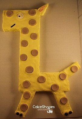 Everyone Will Stretch Their Neck To See This Cut Giraffe Cake Download The Up Pattern At Etsy