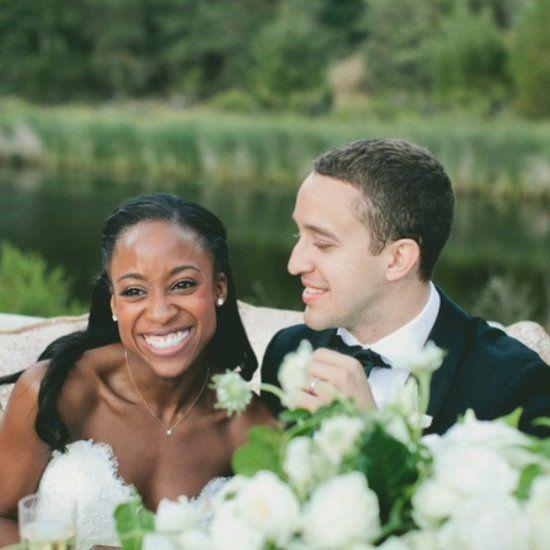 Ten tips for planning an intercultural wedding. Photo via The Knot.