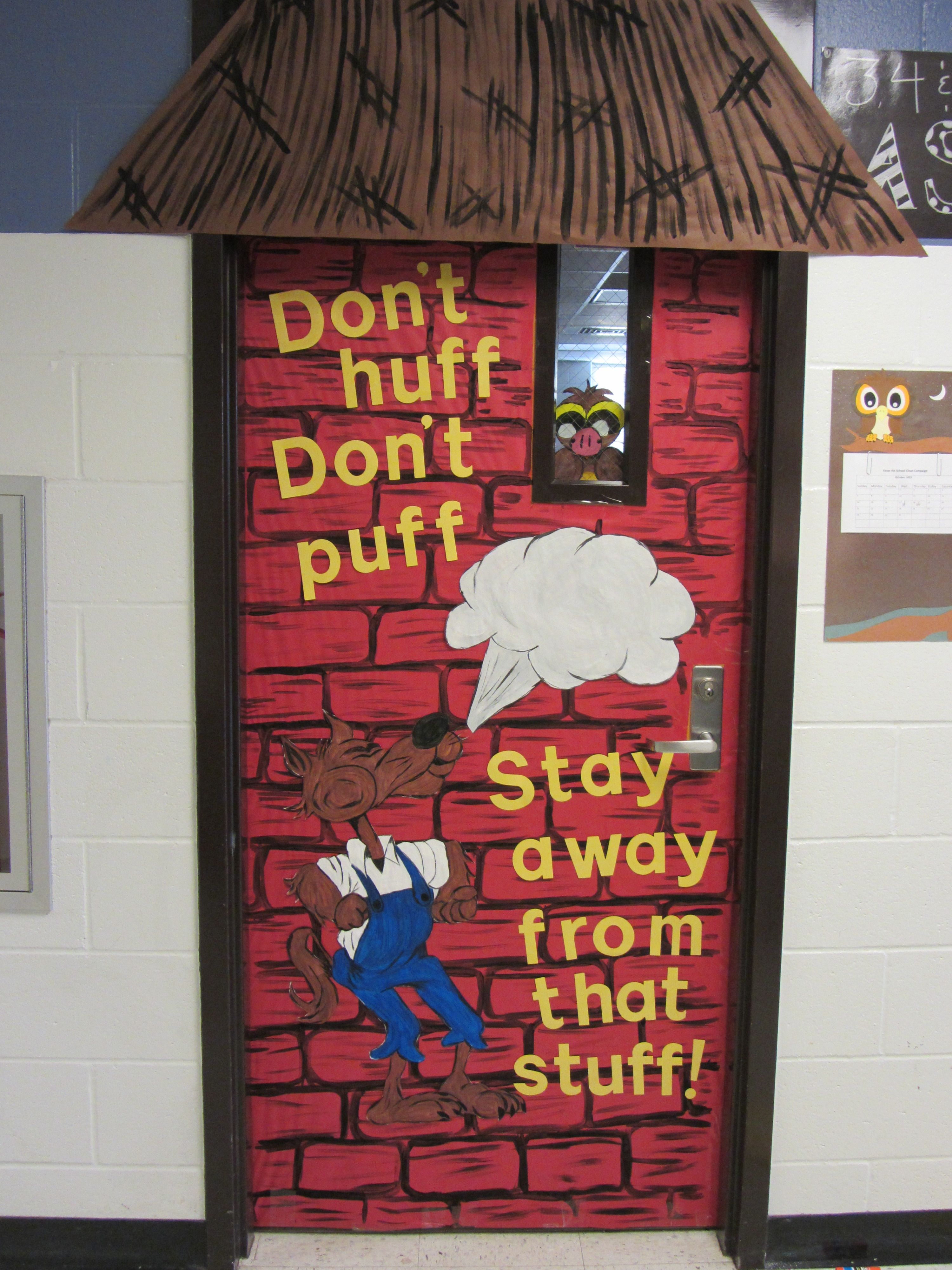 Incorporating literature into the door decoration i like it decor red ribbon week door decorating ideas is an education and prevention initiative in the united states which is celebrated to raise awareness about the vtopaller Choice Image