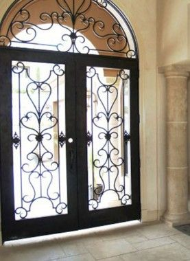 Wrought Iron Doors By Cantera Doors Leading Supplier Wrought