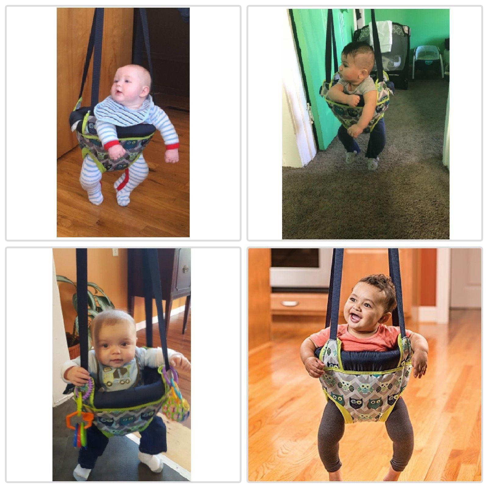 1fe17eb4dde1 Details about New Evenflo Exersaucer Door Jumper Owl Baby Toddler ...