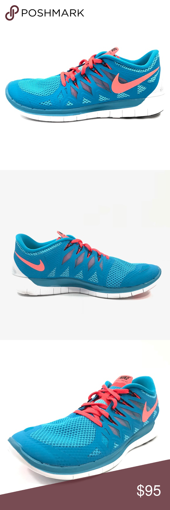 82947980b59d6 Trainers · Shoes Sneakers · Nike Mens Free 5.0 Running Training Shoes Nike  Mens Free 5.0 Running Training Shoes Blue Crimson