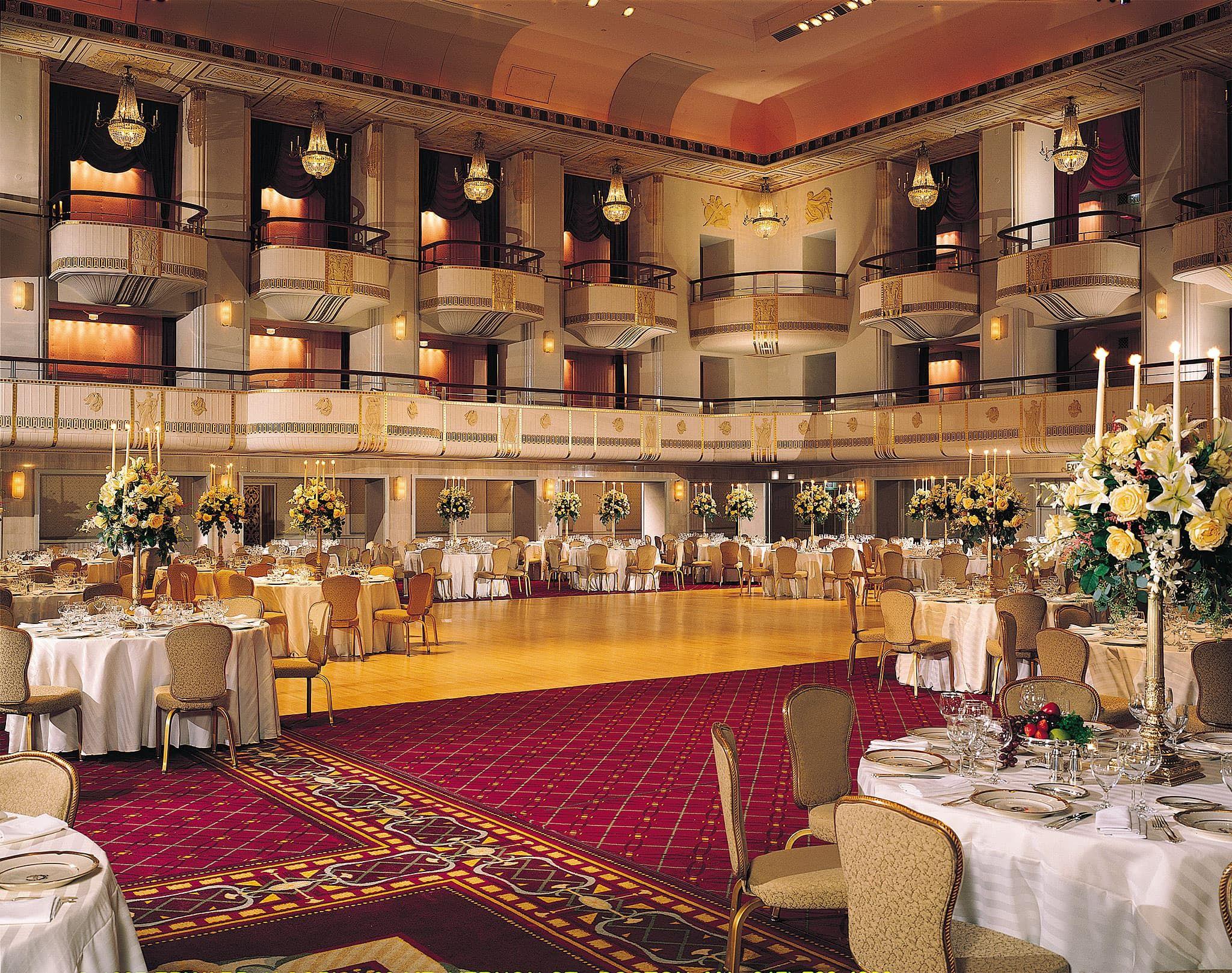 Grand Ballroom At The Waldorf Astoria New York Hotel Credit Hilton Worldwide