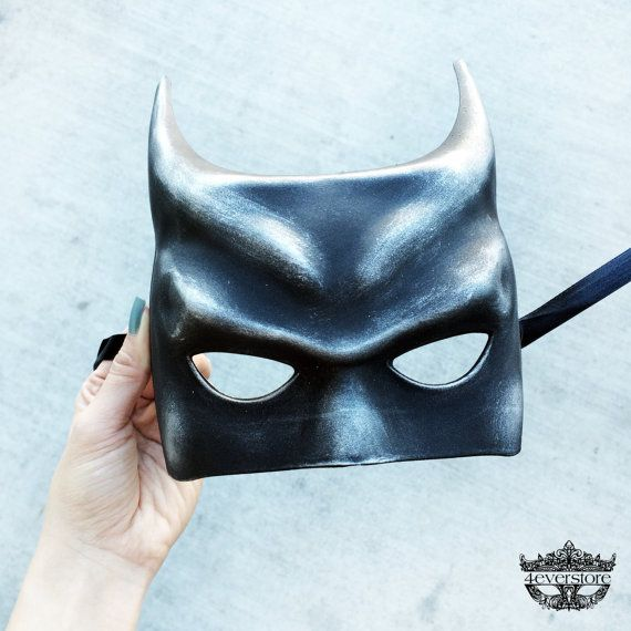 Man Masquerade Super Hero Batman Boys Halloween costume dress up Party Bat Mask