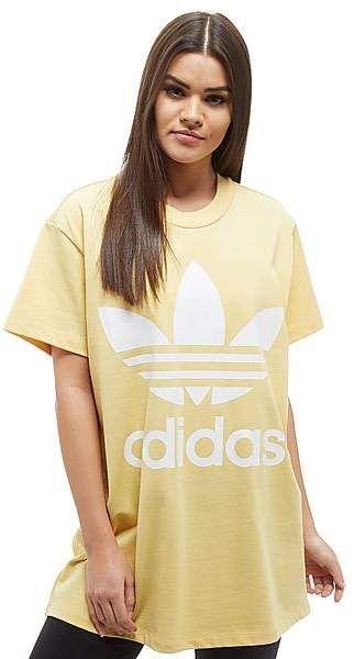 Adidas Originali Gran Trifoglio T - Shirt Un Po 'Troppo Tumblr