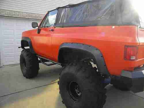 Find Used 1974 Gmc Jimmy Chevy Blazer K5 Lifted Monster Rebuilt