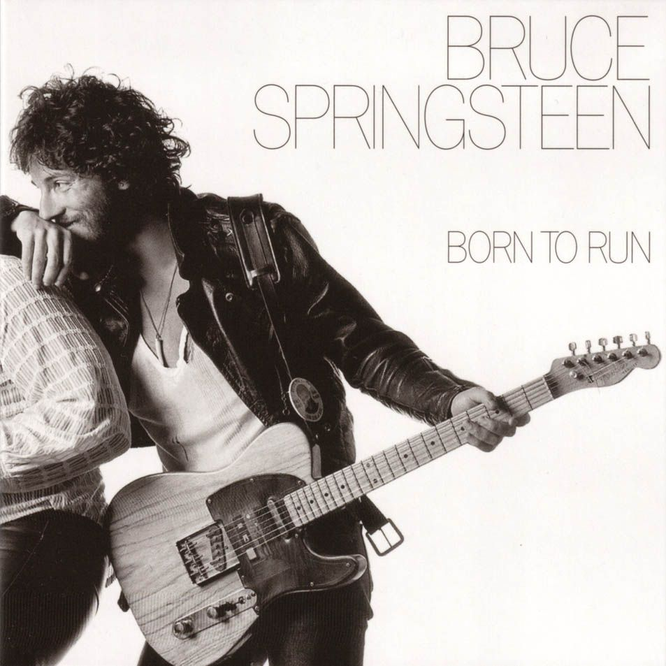 Bruce Springsteen Born To Run 1975 Bruce Springsteen Albums Cool Album Covers Greatest Album Covers