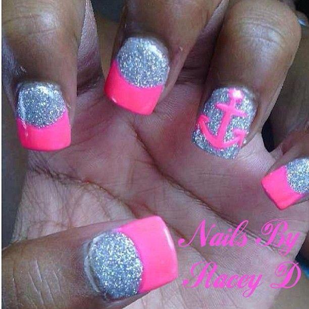 Anchor Nails Nails Pinterest Anchor Nails Nail Nail And Pedicures