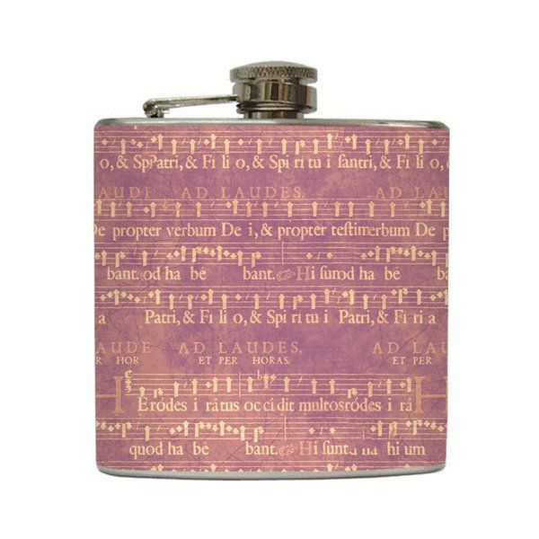 Bitter Sweet Symphony - Liquid Courage Flasks - 6 oz. Stainless Steel Flask