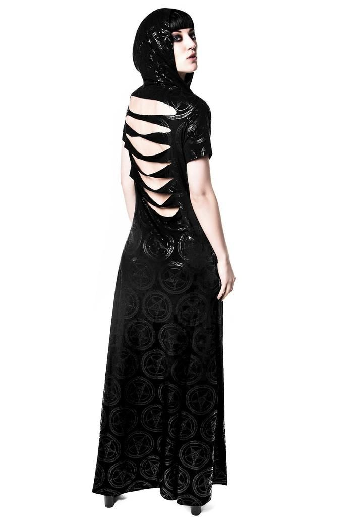 292f898c15b1 Baphomet Maxi Dress  B