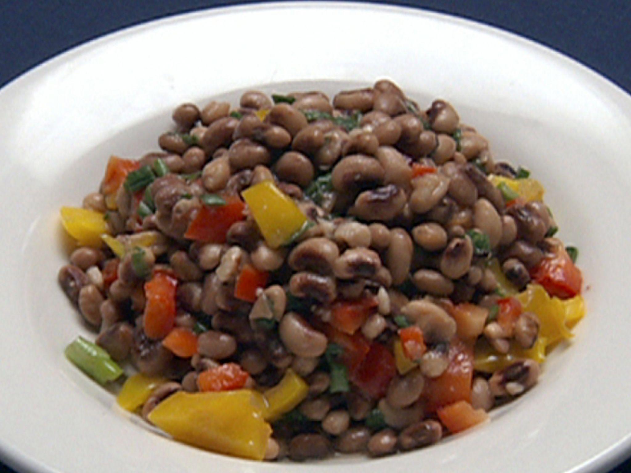 blackeyed pea salad  recipe in 2019  pea salad recipes