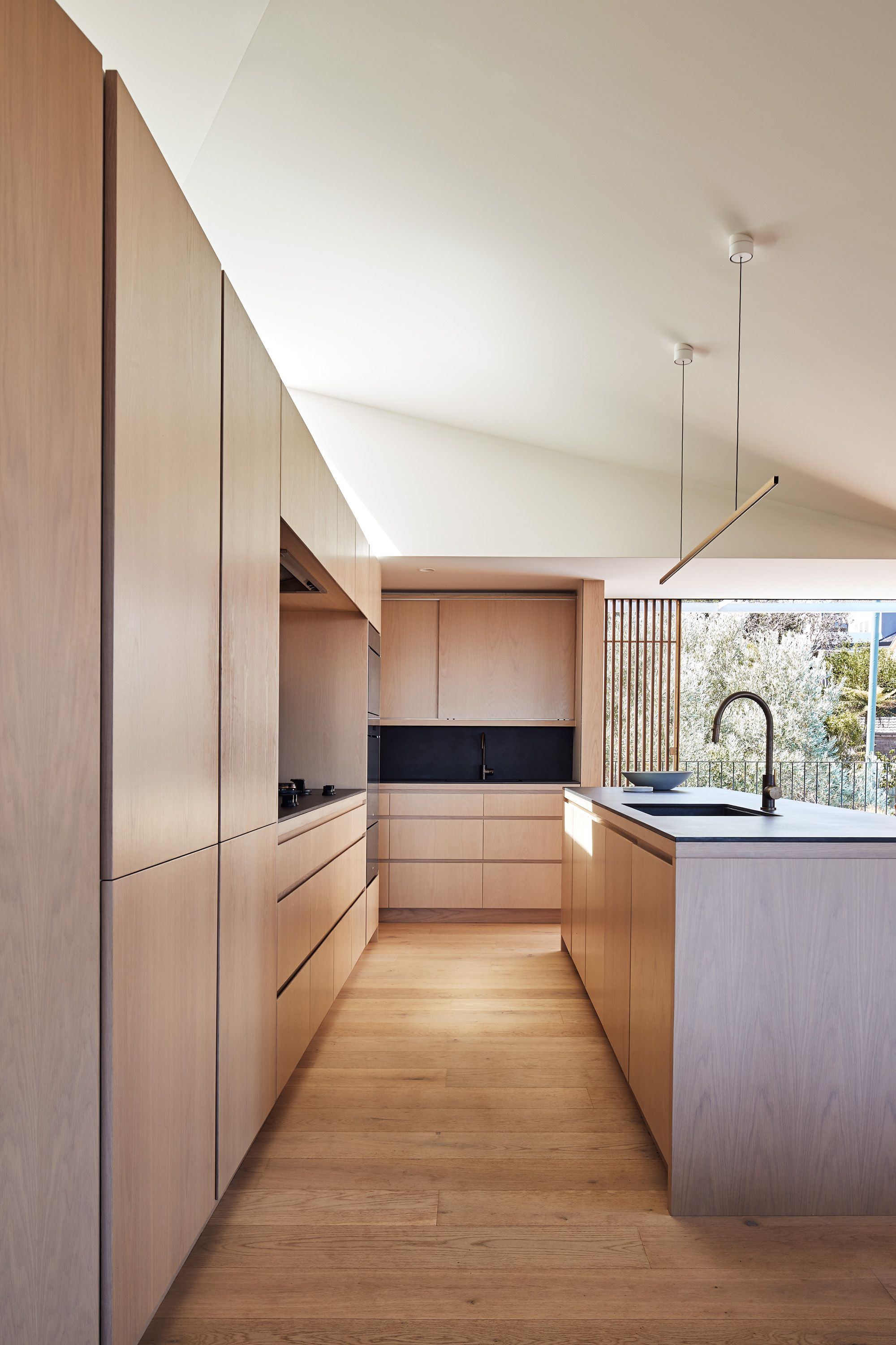 Frederic Keller Architecte D'intérieur Through Careful Planning Kitchens In 2019 Plywood Kitchen