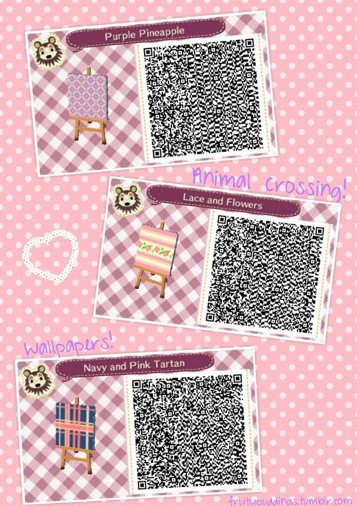 Acnl Wallpaper Qr Codes In 2020 Animal Crossing Wallpaper
