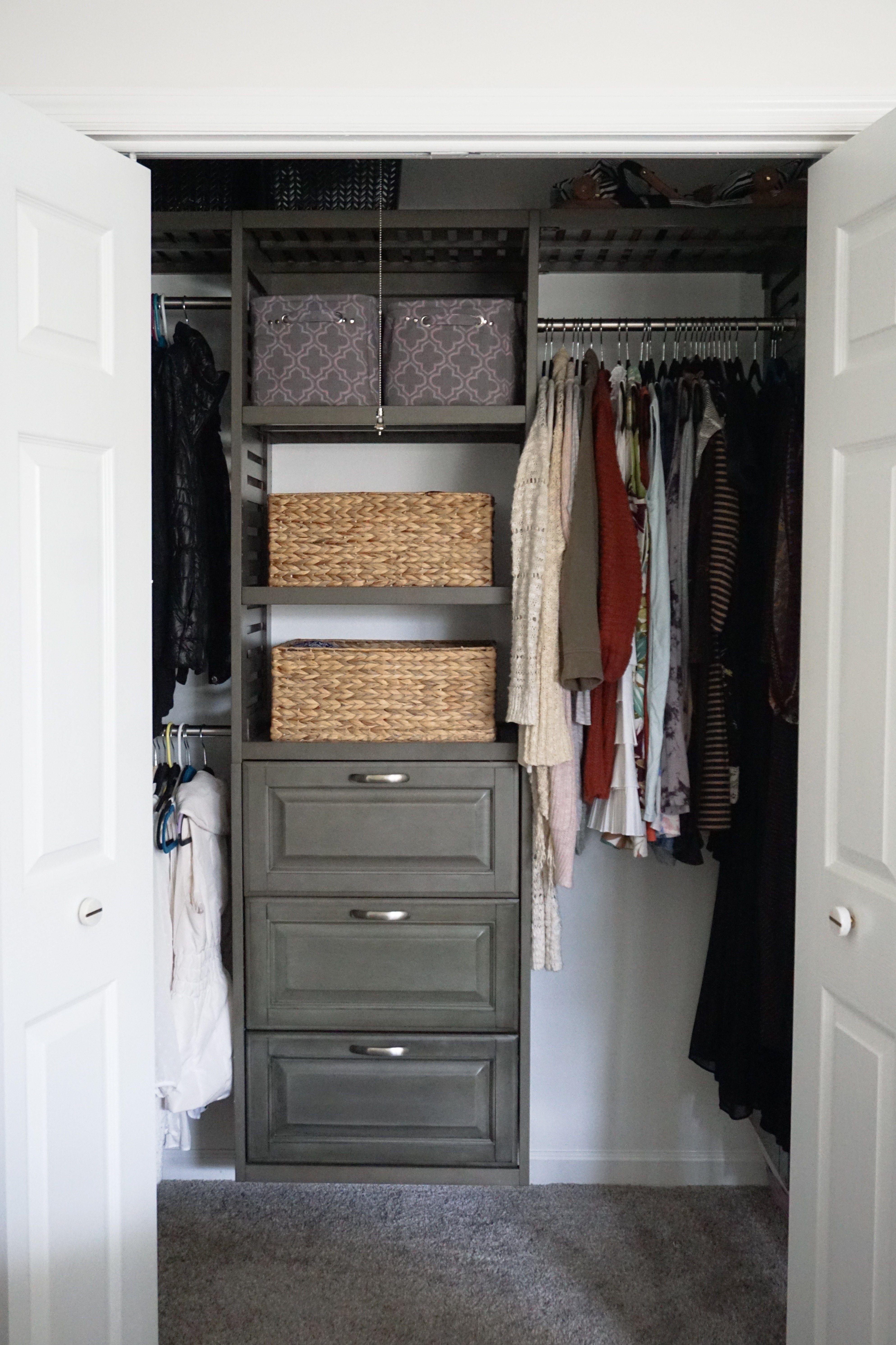 Etonnant Modern Modular Closet System | Master Closet Makeover   Dahlias And Dimes