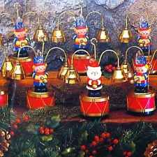 rare mr christmas santas marching band brass bells 35 carols soldiers lights up