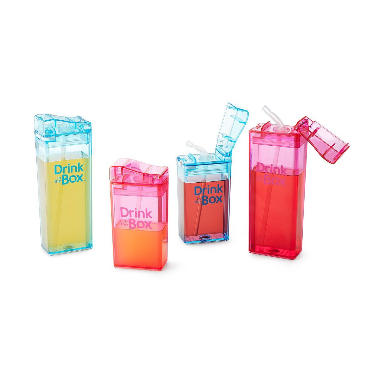 Sustainable Drink Boxes reusable juice box, kids lunch