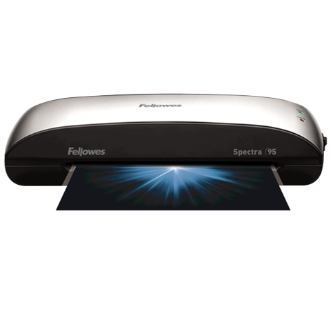 Spectra 95 Laminator With Pouch Starter Kit Fellowes Laminators Home Office