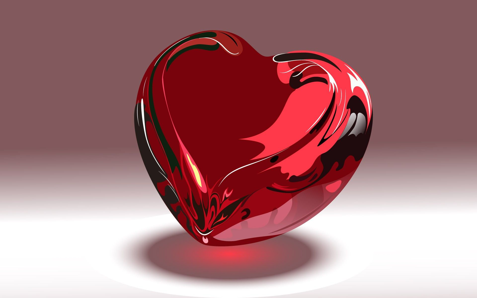 Image For Hd Wallpaper 3d Love Heart 150778 Image Heart