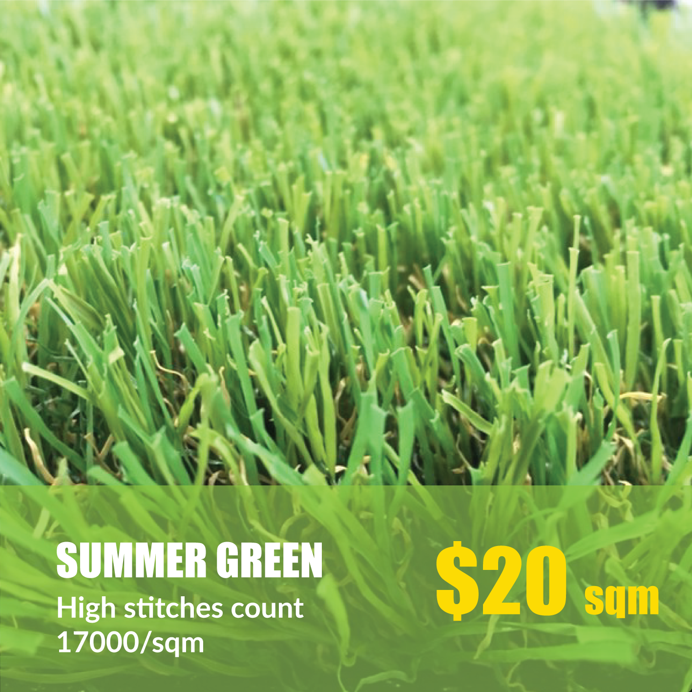 Our company stock top of the range 40mm Synthetic Grass
