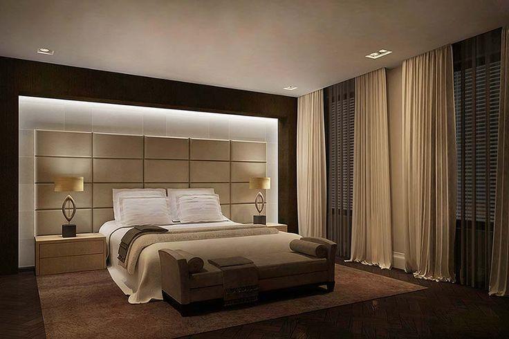 luxe slaapkamer inrichting - Google zoeken - Interior - Bedroom ...