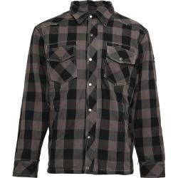 Photo of Bores Lumberjack Shirt Schwarz Grau M Bores