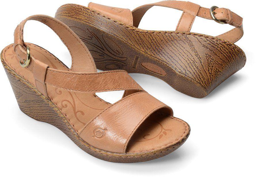 Born Sorine in Natural - Born Womens Sandals on Bornshoes.com