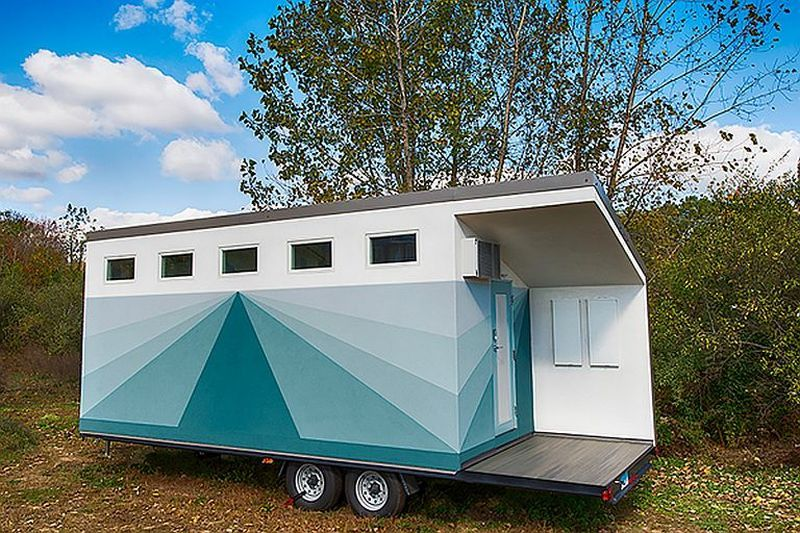 This smart tiny home is an affordable package of luxury amenities