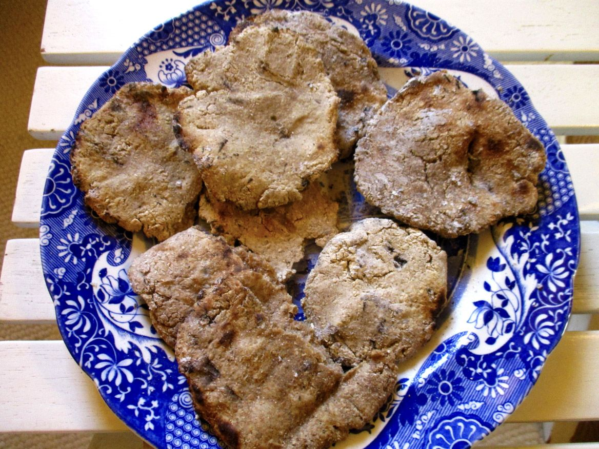 mélange de pains du Moyen-Age issus de différentes farines.