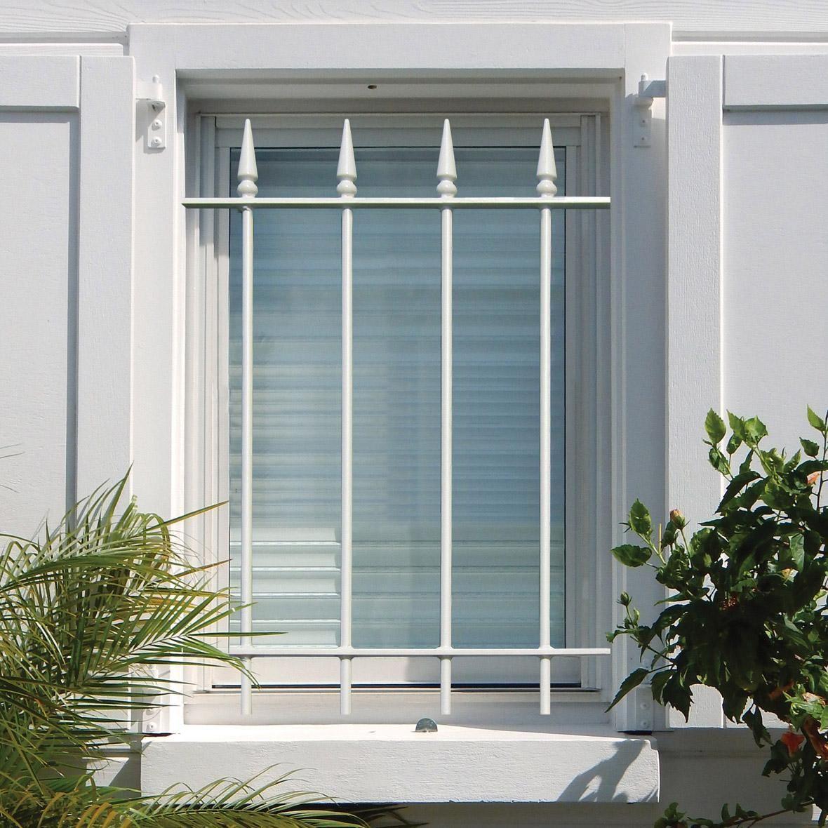 grille de défense pour fenêtre quercy l40 x h75 cm en