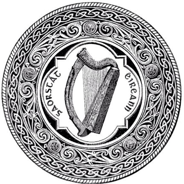 amazing seal of the irish republic ireland and scotland Ireland Wallpaper amazing seal of the irish republic