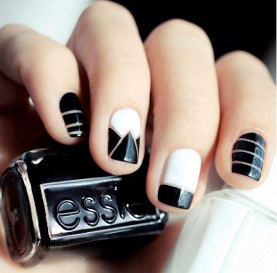 45 Rocking Negative Space Nail Designs Nail Design Ideaz Nails