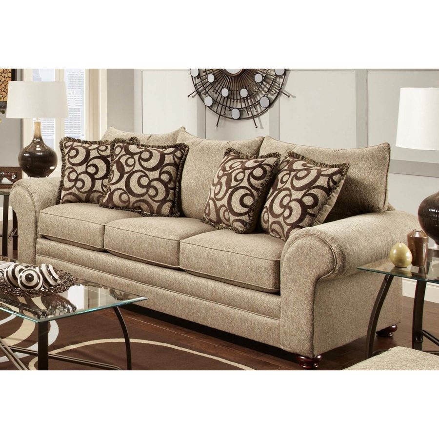 Chelsea Home Astrid Casual Mix Cafe Sofa Lowes Com Furniture Chelsea Home Furniture Mattress Furniture