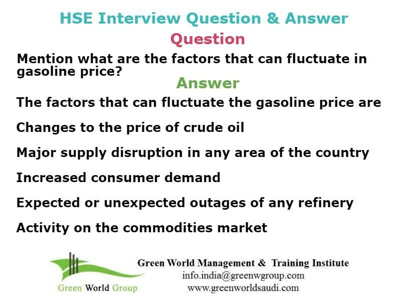 Safety officer interview question and answer #Nebosh #course #in - interview questions and answers