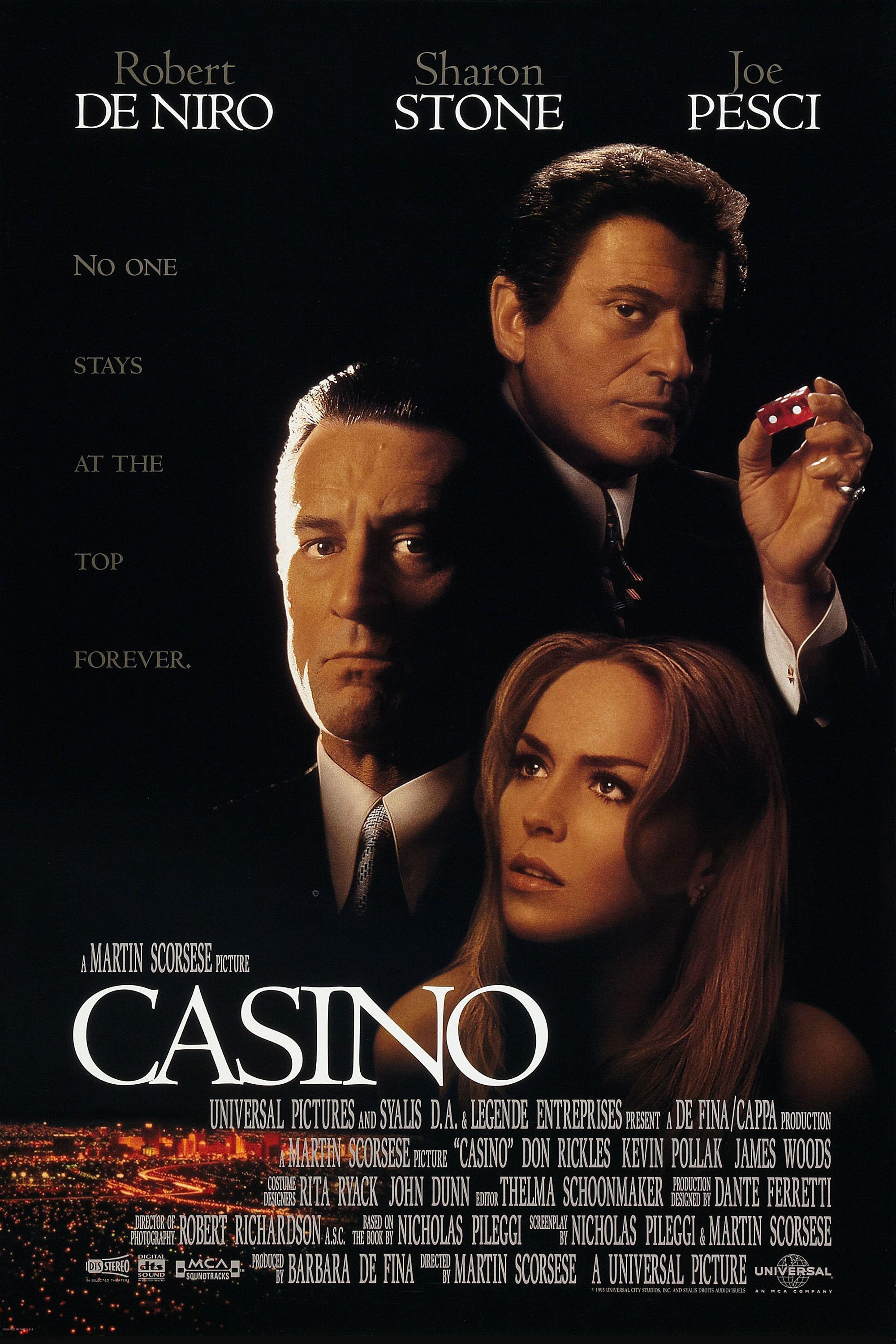 Casino Movie Poster 1995 Gangster Movies Classic Movies Casino Movie