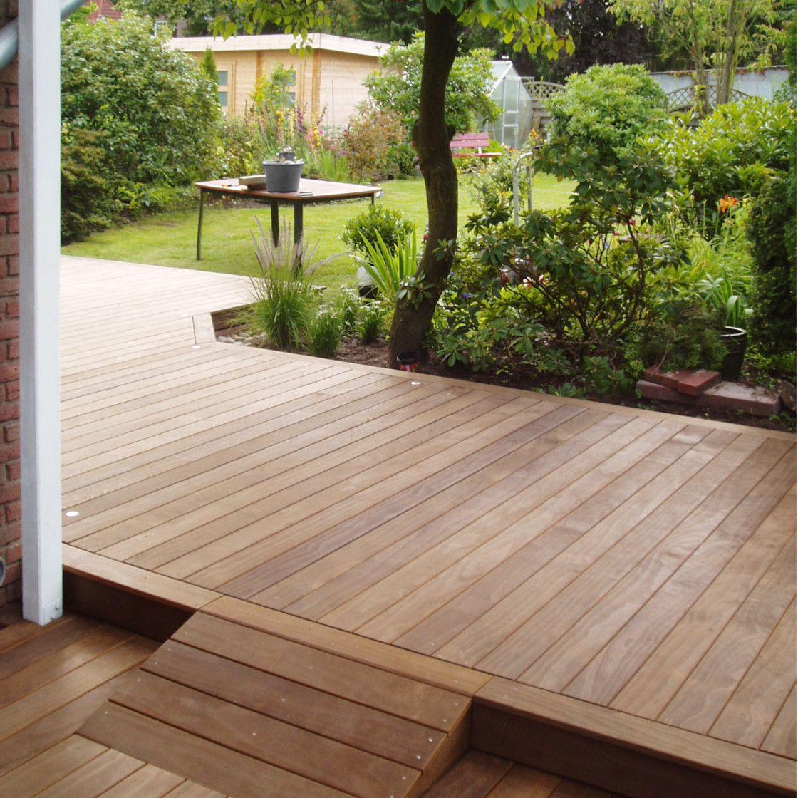 rampe, terrasse, holz, | terrasse | pinterest | restaurant, Gartengerate ideen
