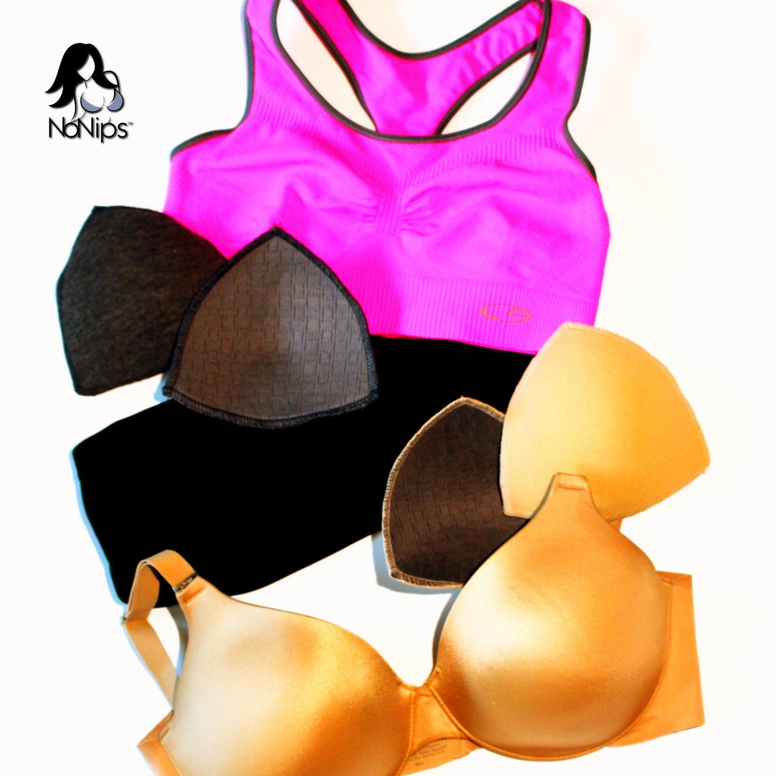 NoNips Bra Inserts Offer Modesty & Comfort! NoNips bra inserts ...