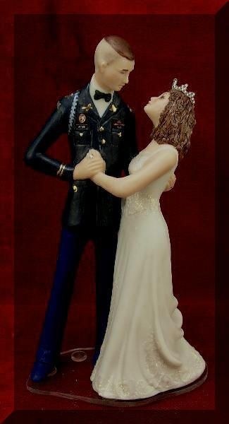 military wedding cake toppers air force us army dress blues cake topper anyone willing to buy 17373