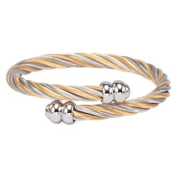 Charriol Bangle Two Tone Stainless Steel 129 At Costco