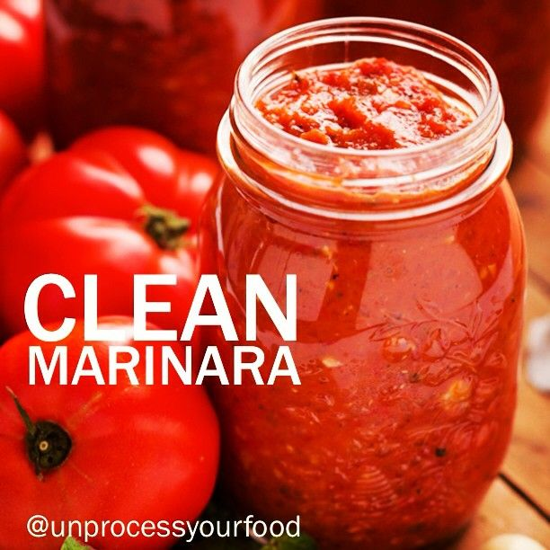 Clean Marinara