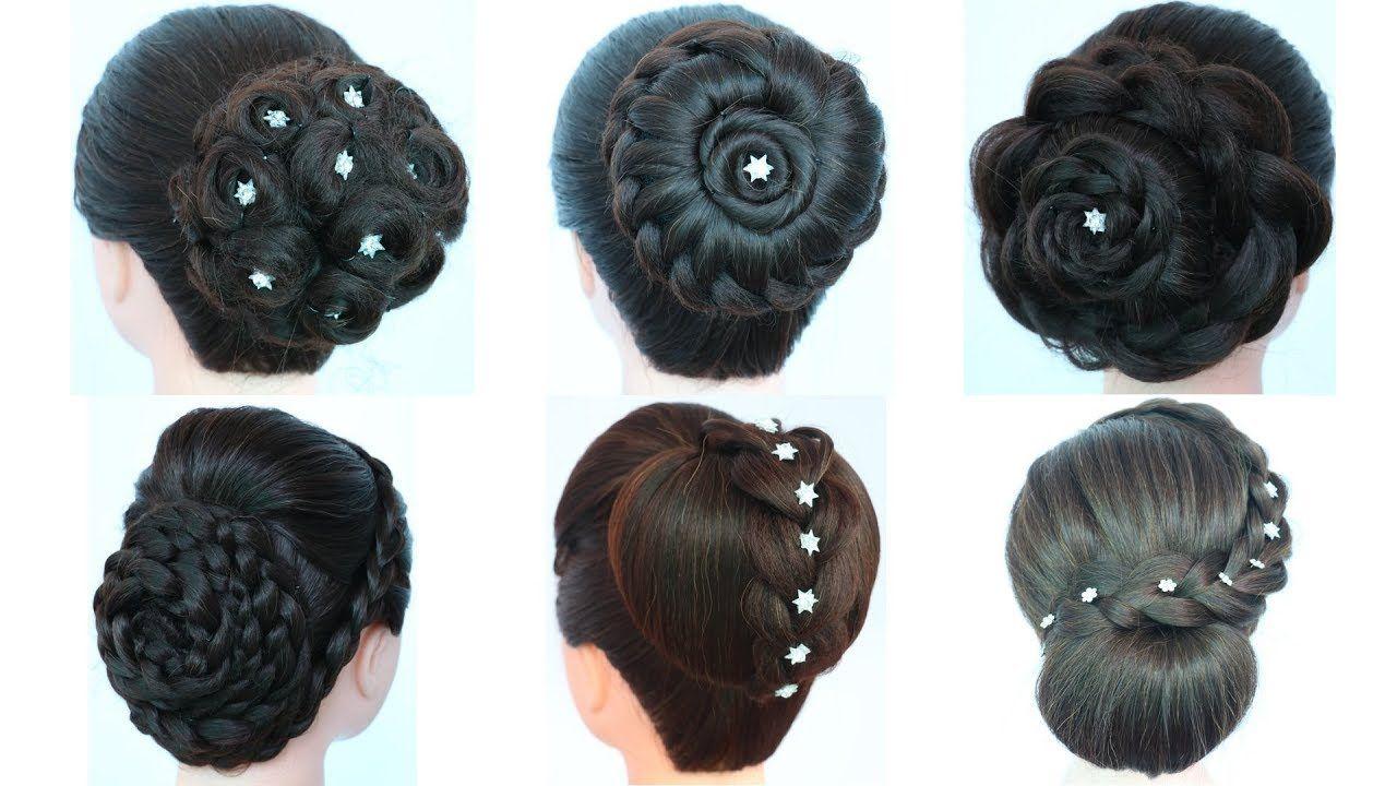 6 Easy Juda Hairstyle For Party Cute Hairstyles Hairstyles For Girls New Hairstyle Cute Hairstyles Girl Hairstyles Bridal Hair Tutorial
