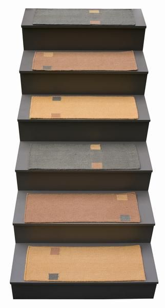 Best Flat Weave Stair Tread Rugs And Landings Taos Flats 400 x 300