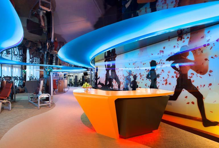 Pin by Dicky Yonathan on Cool Hotels 1 Fitness center design