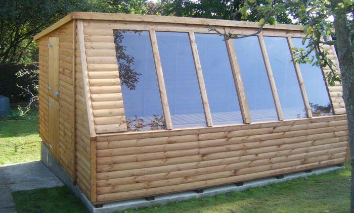 12 x 10 Solar Potting Garden Shed   Surrey Shed Manufacturer Based In Ripley  