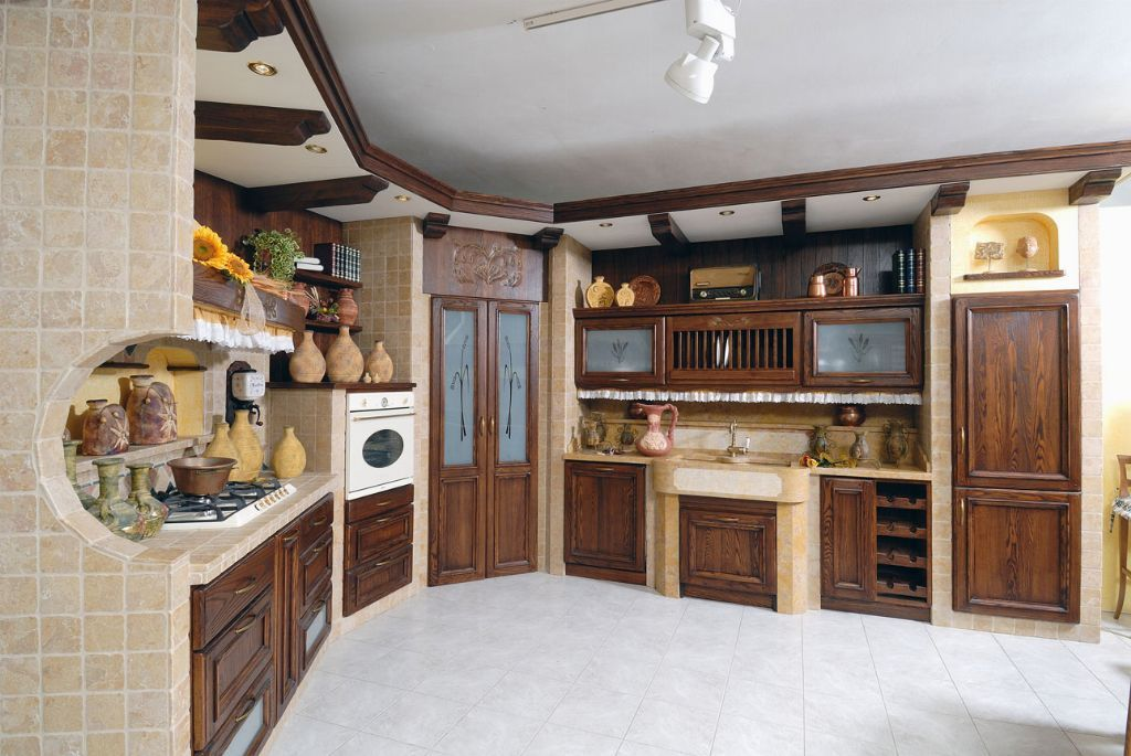 Cucine cucine in muratura moderne cucina in muratura - Cucina in muratura country ...