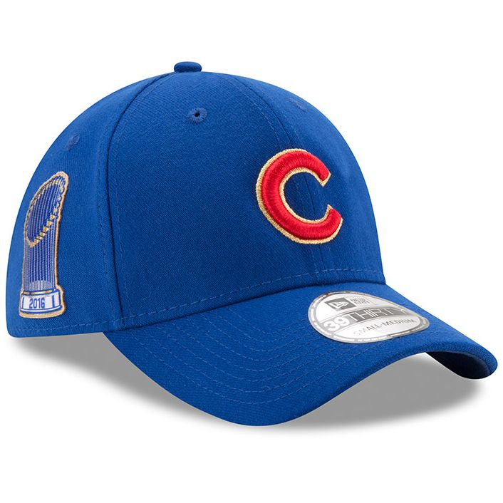 2823a3c7398 Chicago Cubs 2017 Gold Program World Series Champions Commemorative 39THIRTY  Flex Hat  ChicagoCubs  Cubs  FlyTheW  MLB  ThatsCub