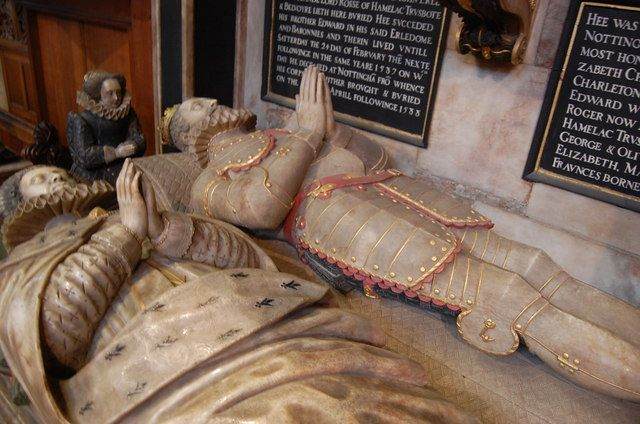 Tomb of 4th Earl of Rutland, St Mary's Church, Bottesford