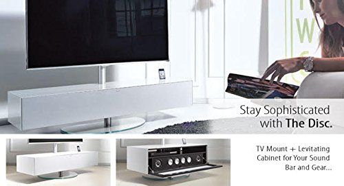 Tv Stand Mount Deluxe With Floating Cabinet For Sound Bar Cable Or Sat Box Now Available From Essence