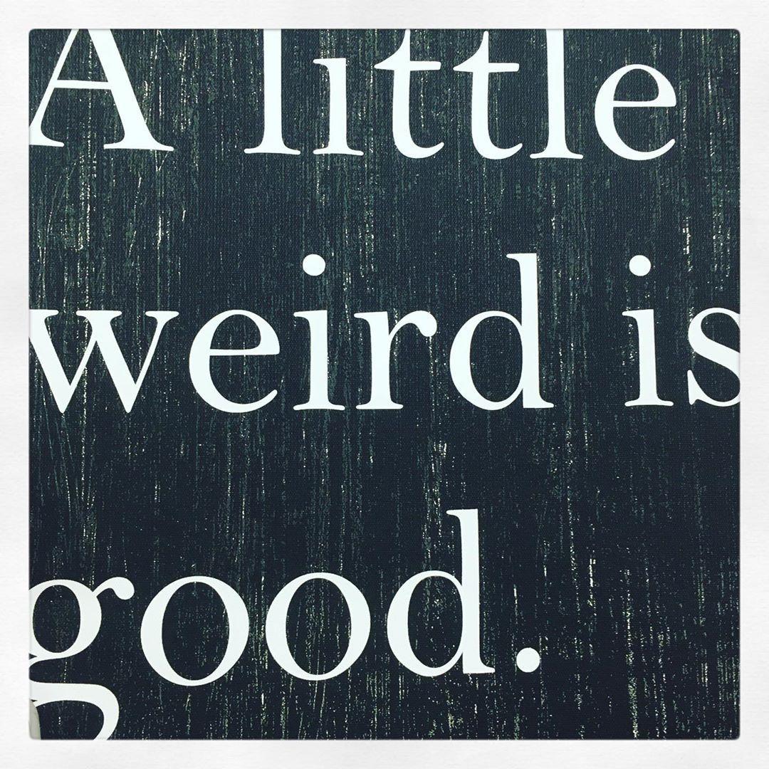 """2̷P̷S̷Y̷C̷H̷E̷D̷ on Instagram: """"a little weird is good— #thursdayvibes"""""""